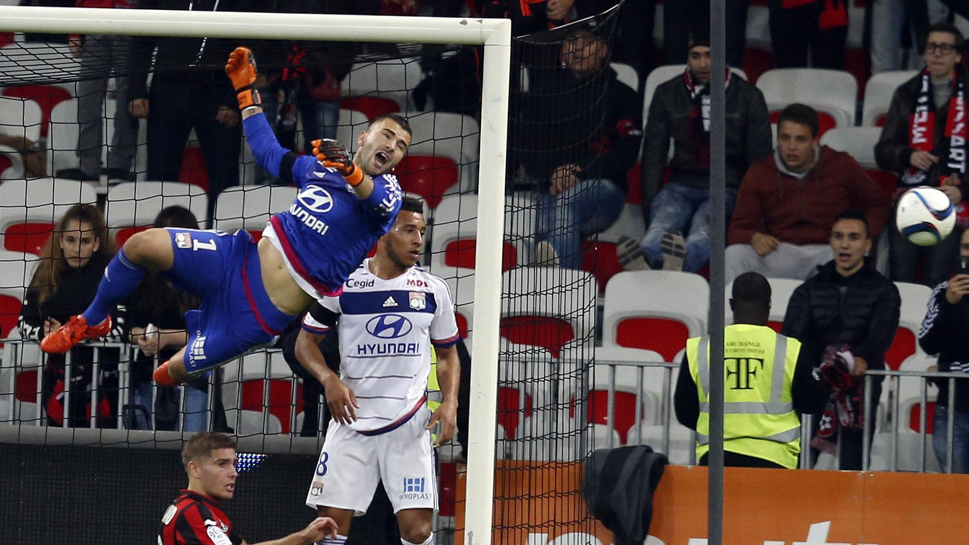 Anthony Lopes Lyon Ligue 1