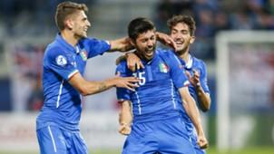 Domenic Berardi Marco Benassi Danilo Cataldi Italy U21 England U21