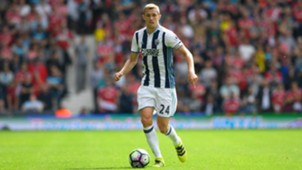 Darren Fletcher West Brom