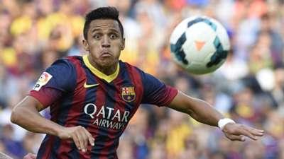 Alexis Sanchez Barcelona 2014