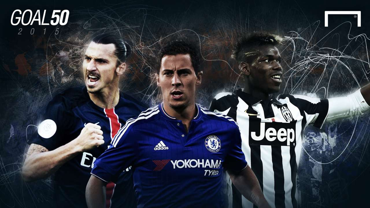 Hazard, Pogba, Ibrahimovic and the Goal 50 stars who could transfer in the next year