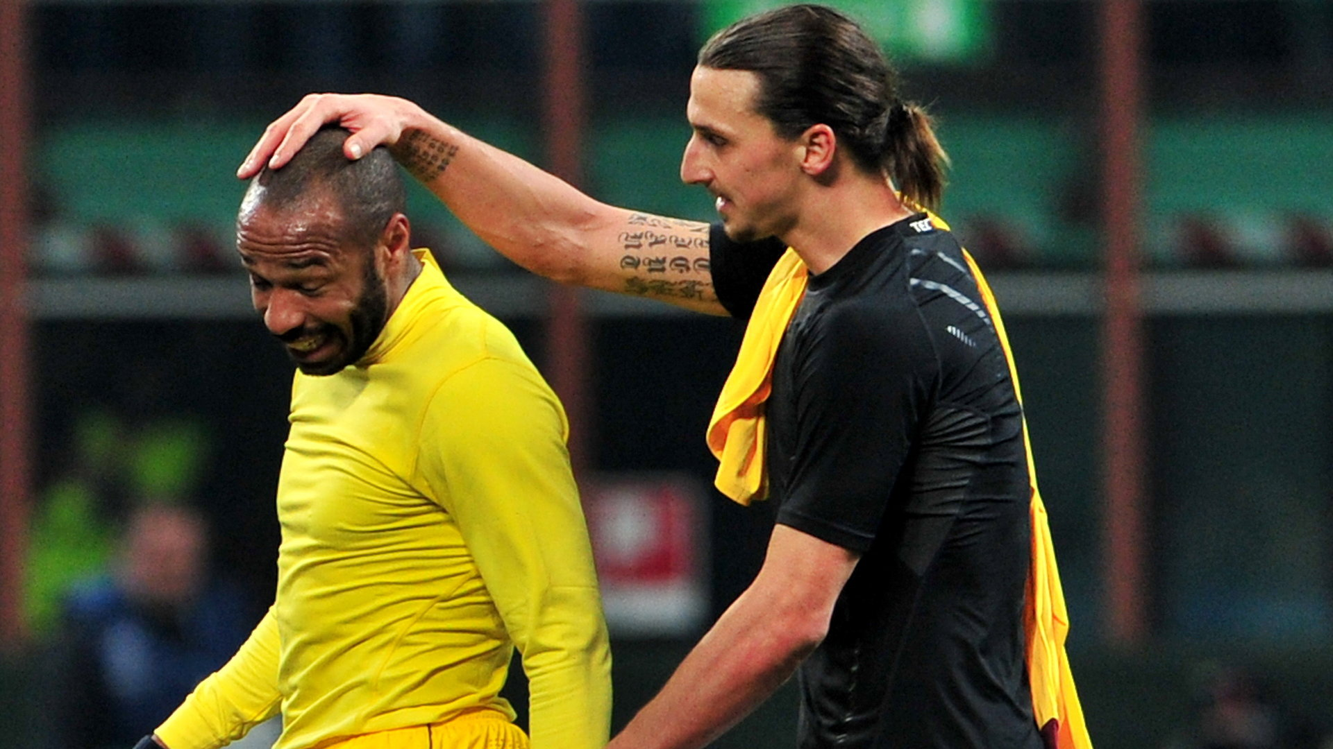 Thierry Henry Zlatan Ibrahimovic