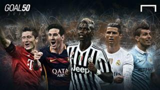 Revealed: The 2015 Goal 50 in full
