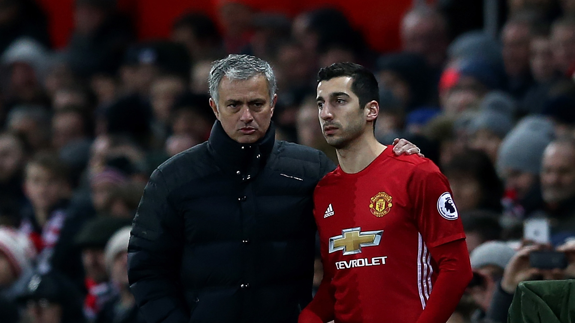 Mourinho suggests Mkhitaryan is leaving Manchester United
