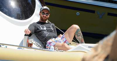 Lionel Messi Holiday Ibiza