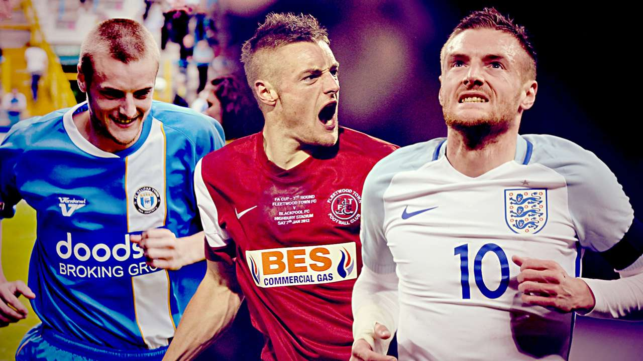 Jamie Vardy Rags to Riches