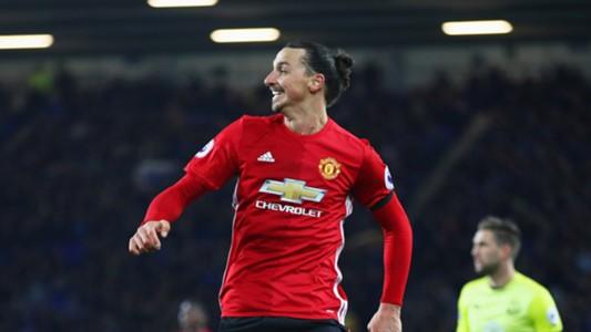 Zlatan Ibrahimovic Everton Manchester United Premier League
