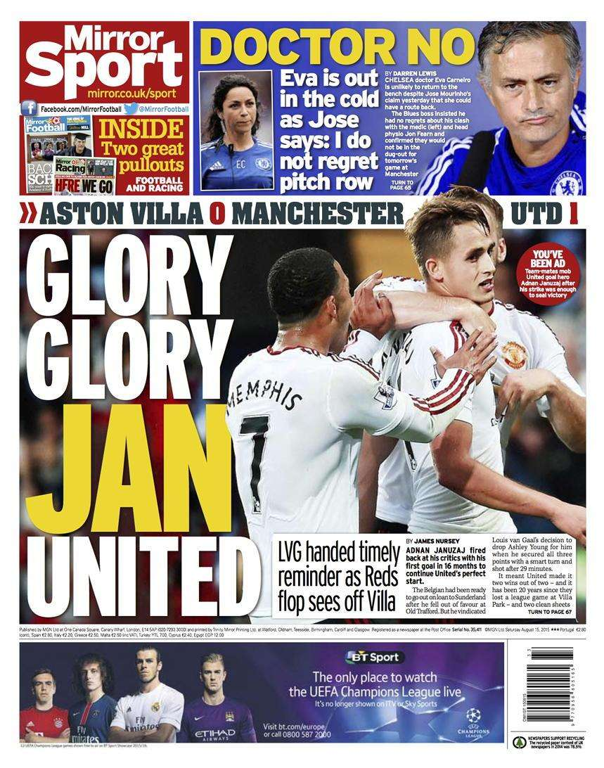 Mirror backpage 15-08-15