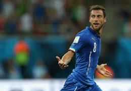 Claudio Marchisio Italy England 2014 World Cup Group D 14062014