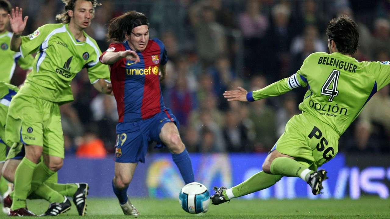 Lionel Messi Barcelona Getafe 2007