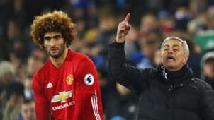 Marouane Fellaini Jose Mourinho Man Utd Everton
