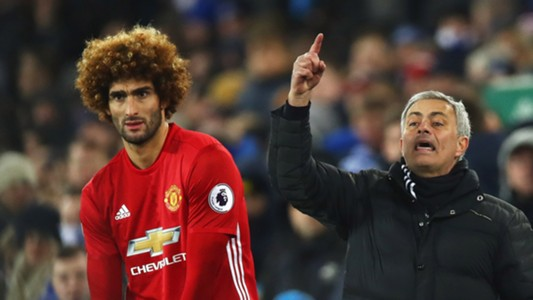 Marouane Fellaini Jose Mourinho Man Utd Everton
