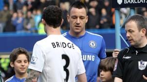 John Terry Wayne Bridge Chelsea Manchester City