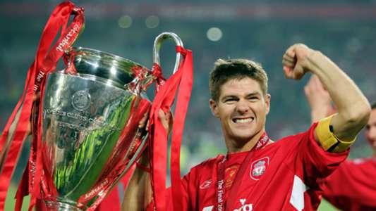 Steven Gerrard Liverpool Champions League 2005