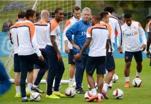 Guus Hiddink Netherlands training