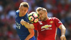 HD Jamie Vardy Leicester City Luke Shaw Manchester United 07082016