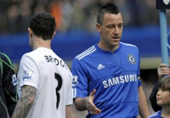 Wayne Bridge John Terry 2009