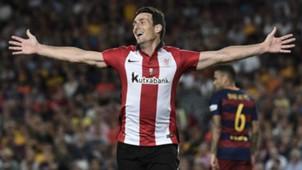 Aritz Aduriz Athletic Barcelona Supercopa de Espana
