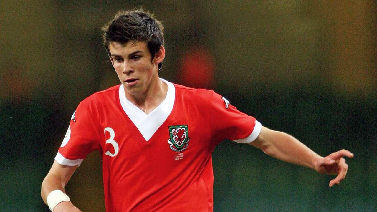 Gareth Bale Wales Euro 2008 qualification 11102006