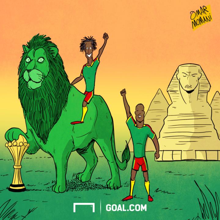 CARTOON: Cameroon Win AFCON 2017