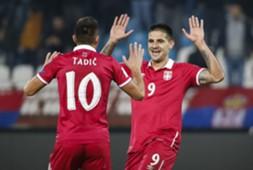 Dusan Tadic, Aleksander Mitrovic, Serbia
