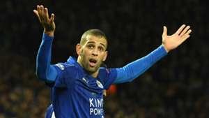 HD Islam Slimani Leicester City