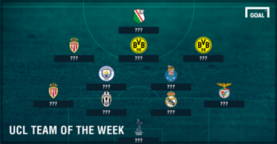 GFX PS UCL Team of the Week 23112016