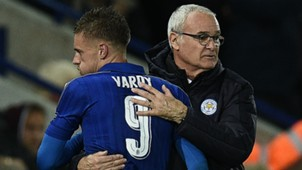 HD Jamie Vardy Claudio Ranieri Leicester City