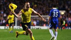 Andres Iniesta Barcelona Chelsea Champions League 06052009