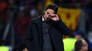 Roger Schmidt Champions League Bayer Leverkusen v Barcelona