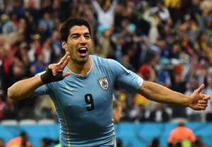 Luis Suarez Uruguay England 2014 World Cup Group D