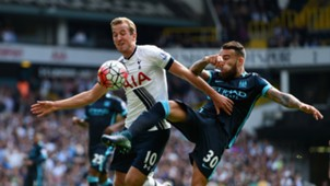 Harry Kane Nicolas Otamendi Tottenham Manchester City Premier League 260915
