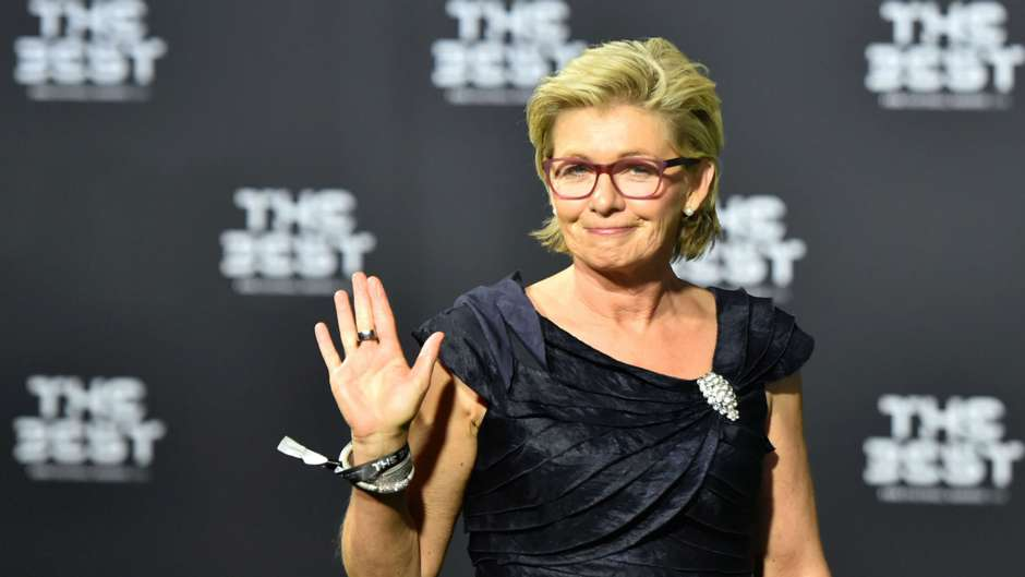 Silvia Neid The Best FIFA Football Awards 09012017