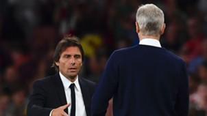 Arsene Wenger & Antonio Conte