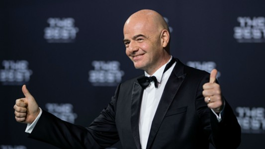 Gianni Infantino The Best FIFA Football Awards 09012017