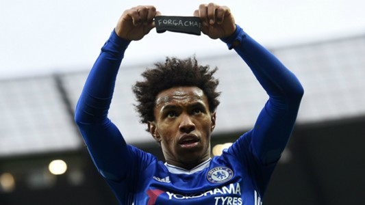 Willian Chelsea Manchester City Chapecoense