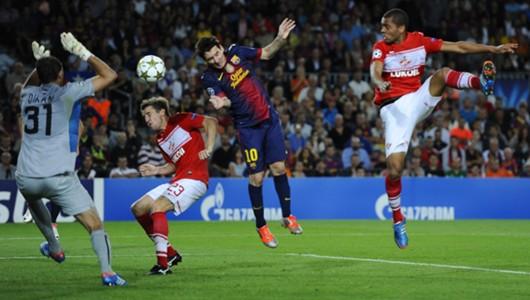 Messi Spartak 2012