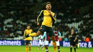 Alex Oxlade-Chamberlain Arsenal West Ham