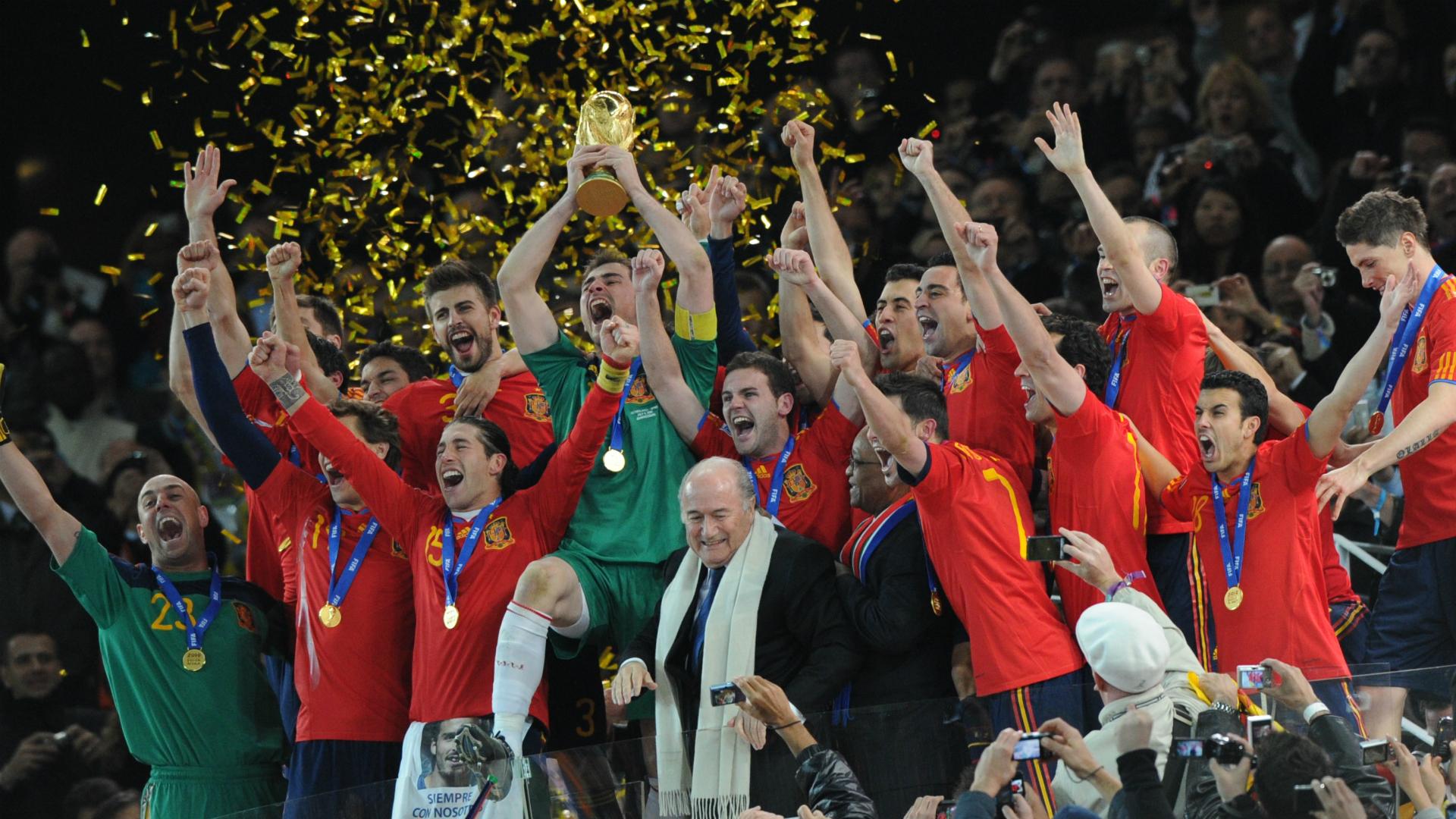 Sepp Blatter 2010 World Cup