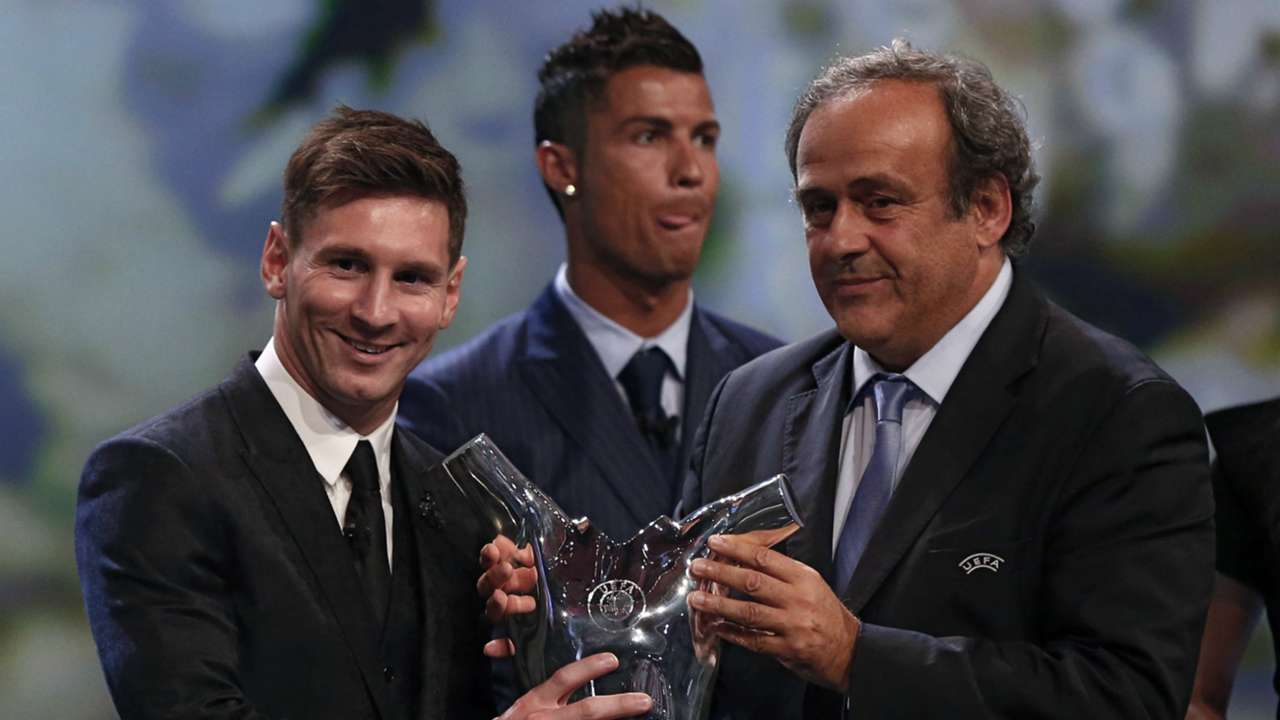Messi UEFA award Aug 2015