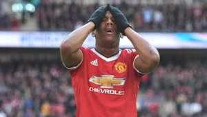 Anthony Martial FA Cup Everton v Man Utd 230416
