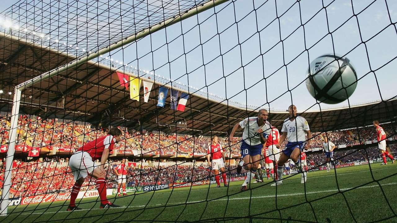 Zinedine Zidane France Euro 2004
