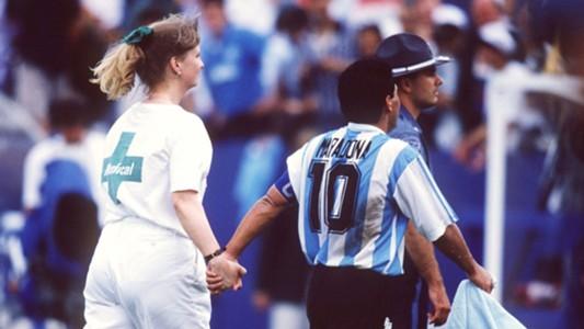 Diego Maradona Argentina World Cup 1994