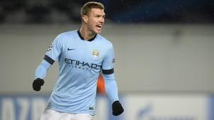 Edin Dzeko Manchester City
