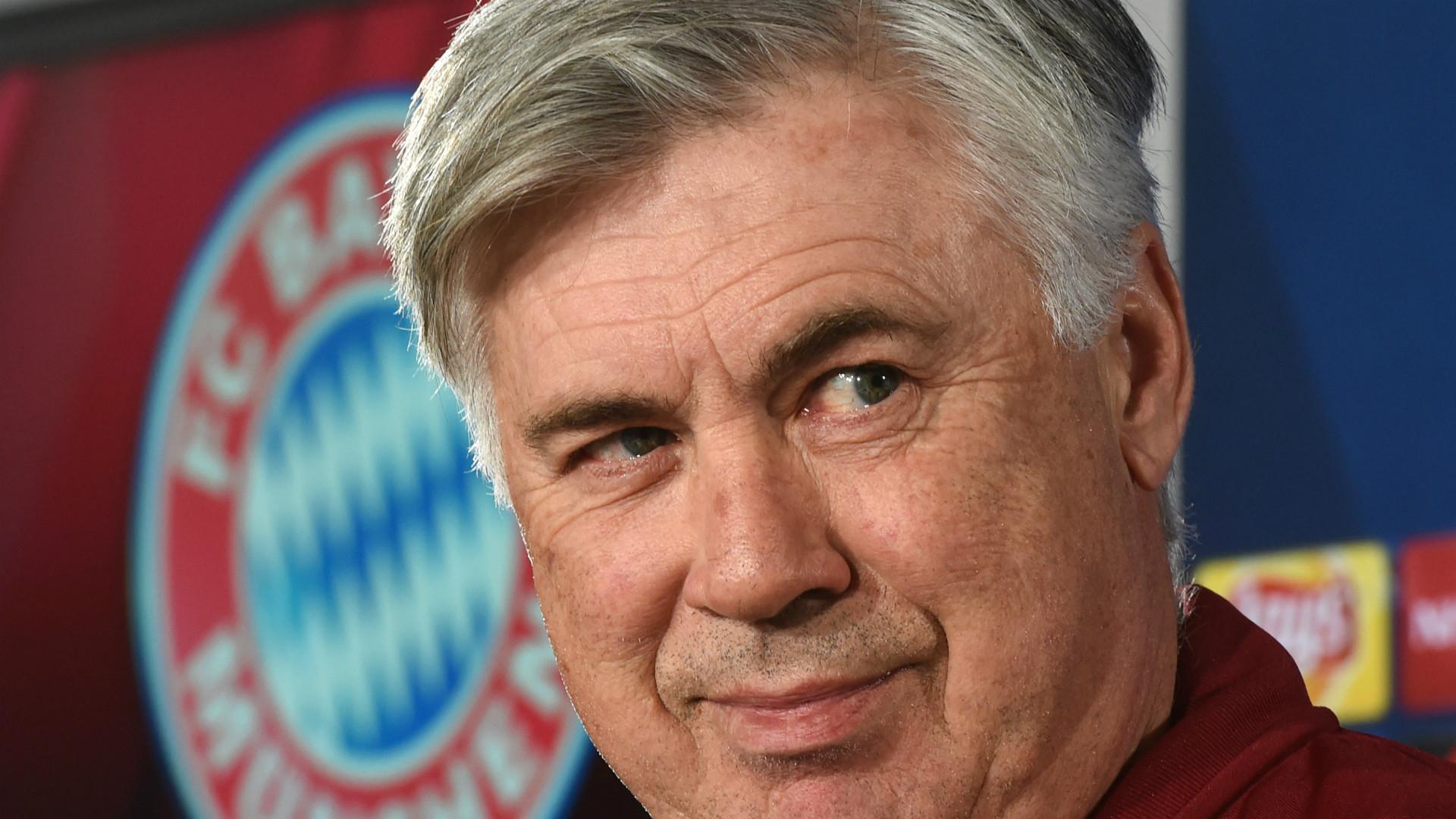 HD Carlo Ancelotti Bayern Munich
