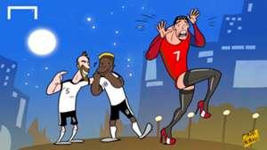 CARTOON: Ronaldo in tights