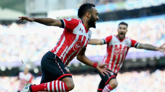 Nathan Redmond Premier League Man City v Southampton 231016