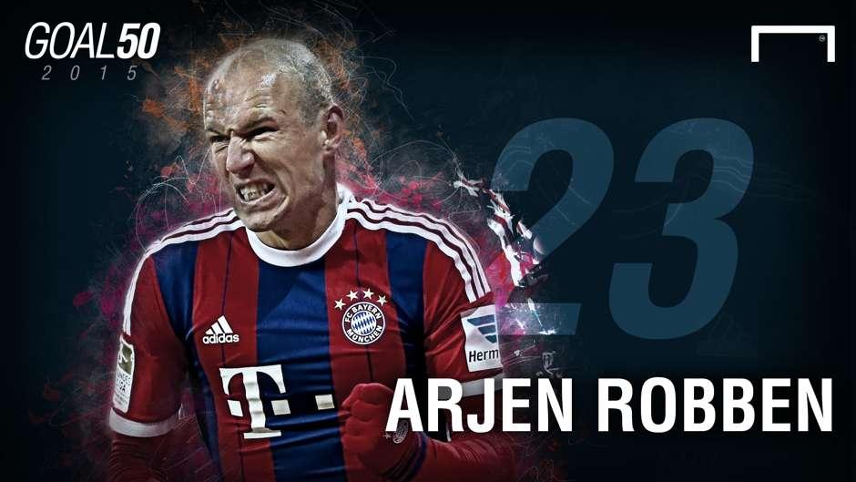 23 Arjen Robben G50