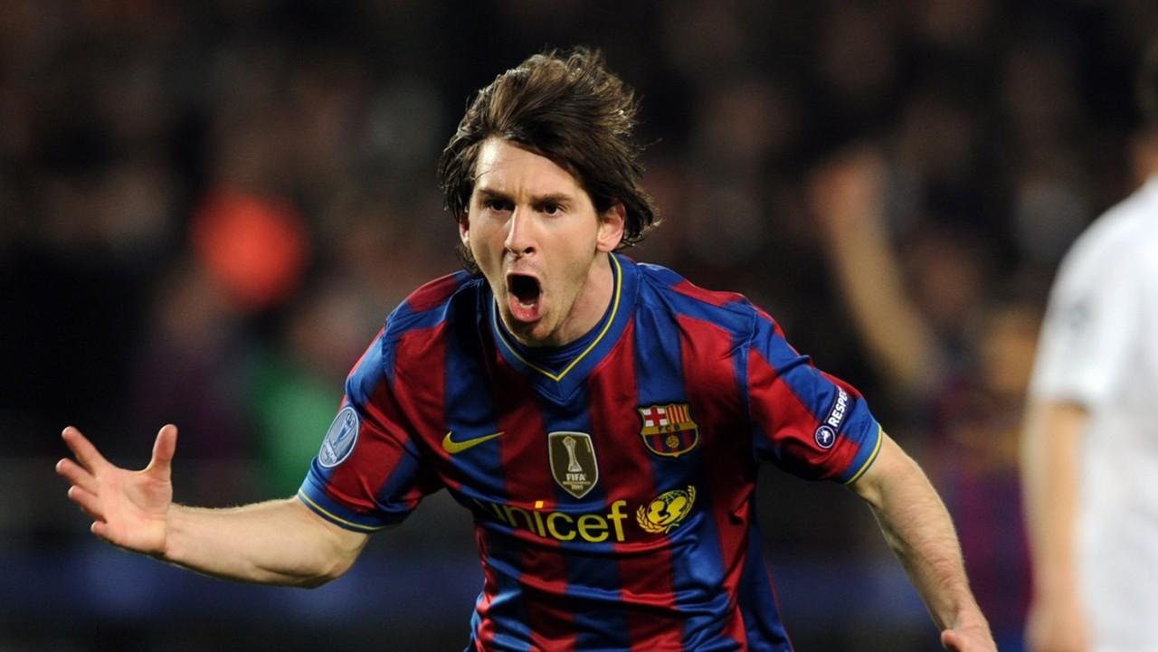 HD Lionel Messi Barcelona Arsenal 2010