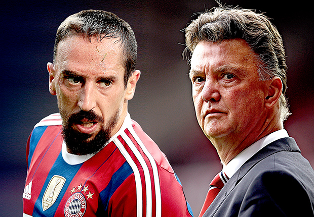 Van Gaal n'a jamais vu Ribéry comme une star — Bayern Munich